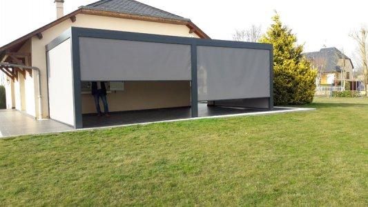 pergola bio climatique en Aveyron